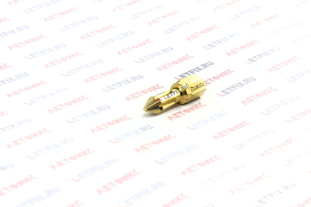 Бита алмазная PH1х25 Makita P-38576 для шуруповерта и дрели для работы со шлицем Phillips (PH) размером 1.