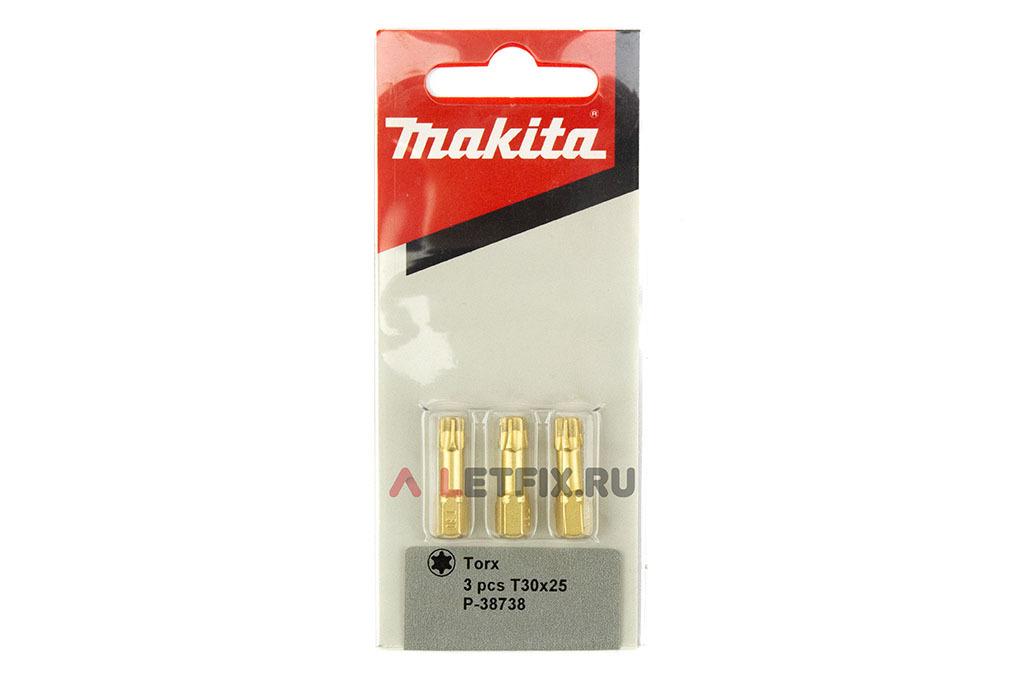 Упаковка алмазных бит T30*25 мм Makita P-38738