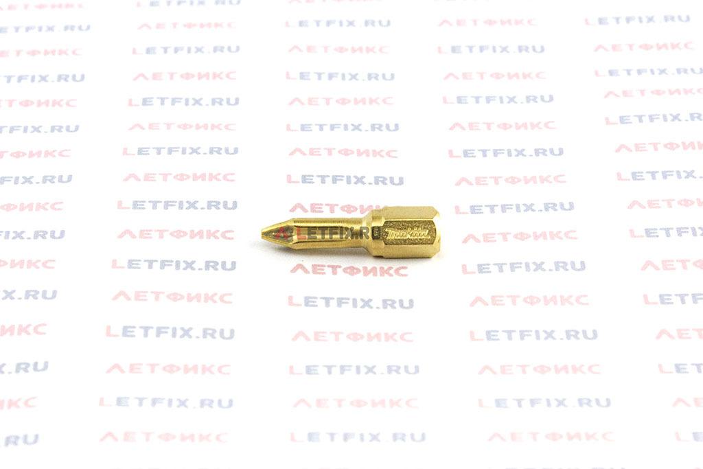 Бита алмазная PZ1х25 Makita P-38635 для шуруповерта и дрели для работы со шлицем Pozidriv (PZ 1)