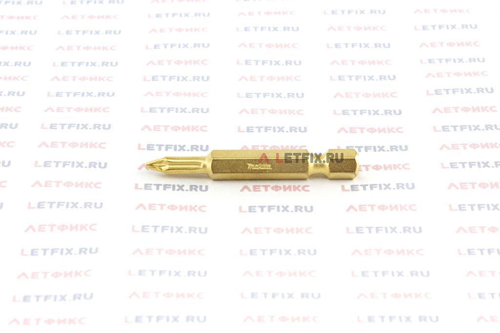 Бита алмазная PZ1х50 мм Makita P-38663. Алмазная насадка PZ1 длиной 50 мм.