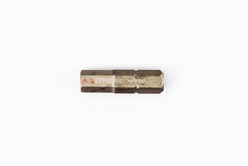 Бита SW6 (Inbus) магнитная длиной 25 мм Makita P-21406
