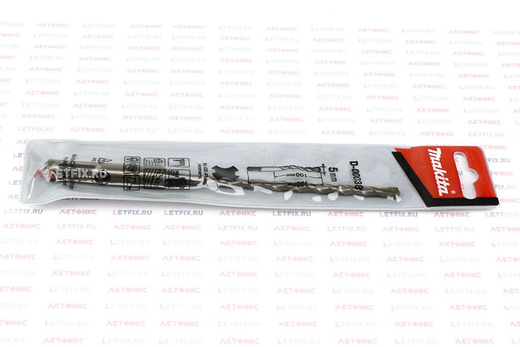 Упаковка бура SDS-plus Makita D-00038 5*160 Standard