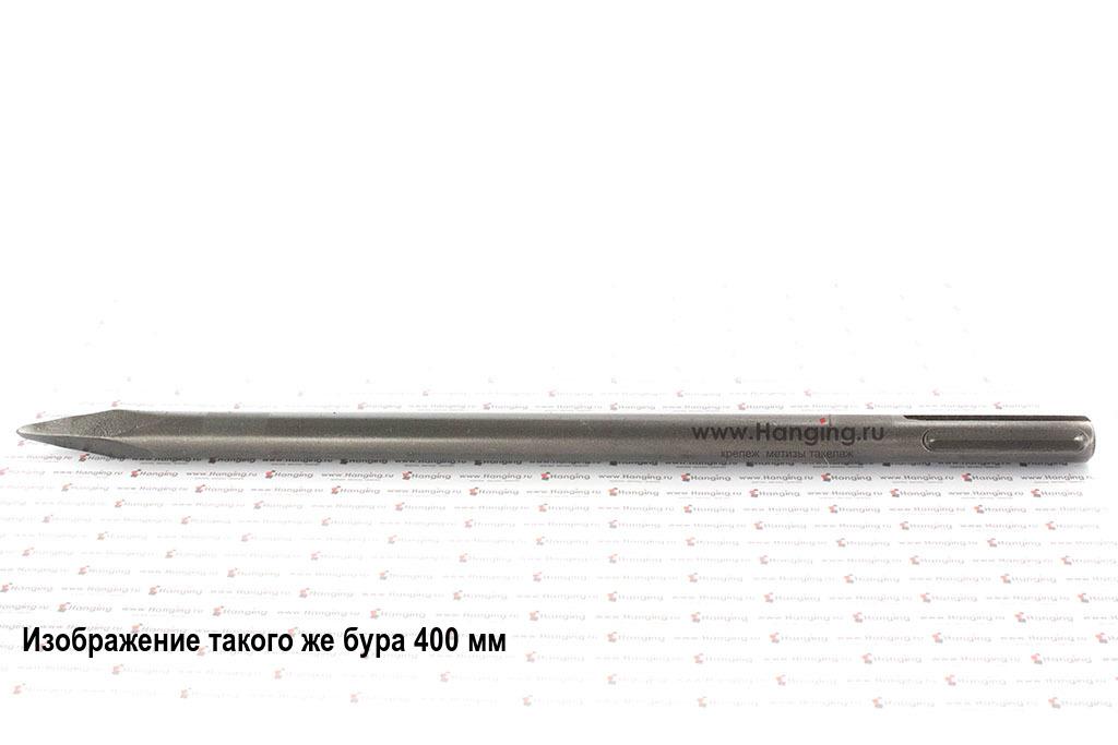 Пикообразное долото Makita длиной 400 мм HEX 30