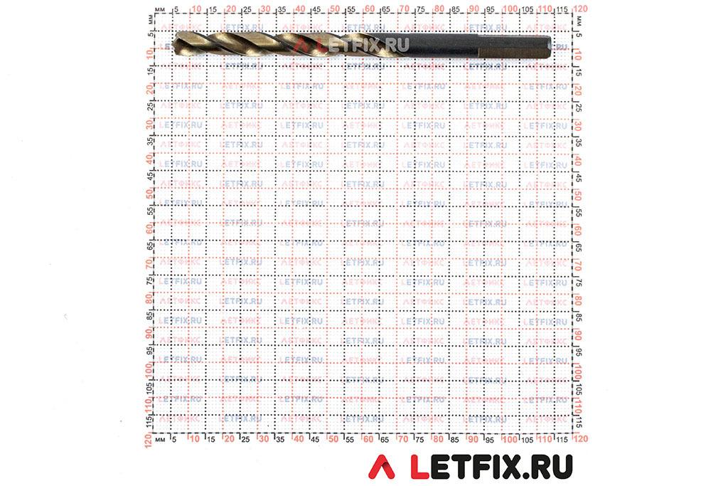 Размеры сверла Makita M-Force 7х109 D-29717