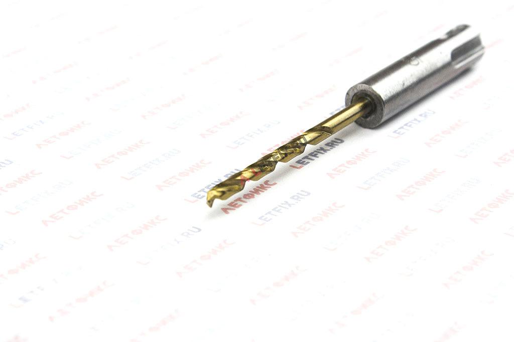 Сверло по металлу для перфоратора Makita B-57417 HSS-TiN SDS-Plus 3,5*100 мм