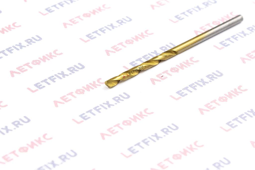 Сверло по металлу Makita HSS-TiN 2х49 D-43262