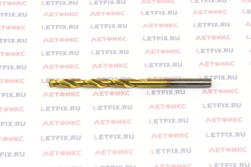 Сверла по металлу Makita HSS-TiN 4,1*75 мм с цилиндрическим хвостовиком по стандарту DIN 338