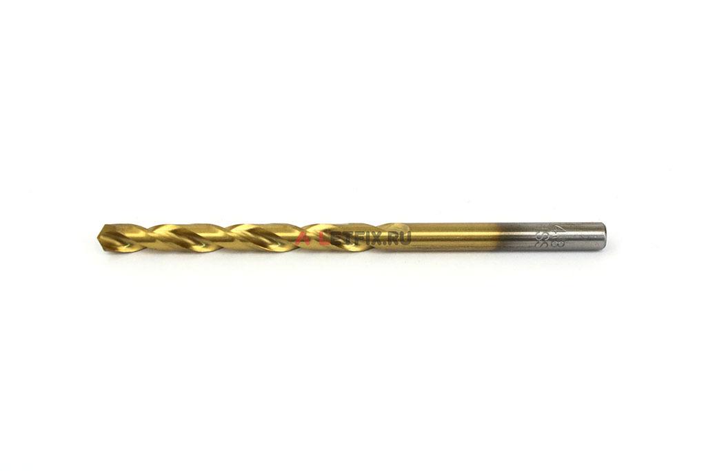Сверла по металлу Makita HSS-TiN 4,8*86 мм с цилиндрическим хвостовиком по стандарту DIN 338