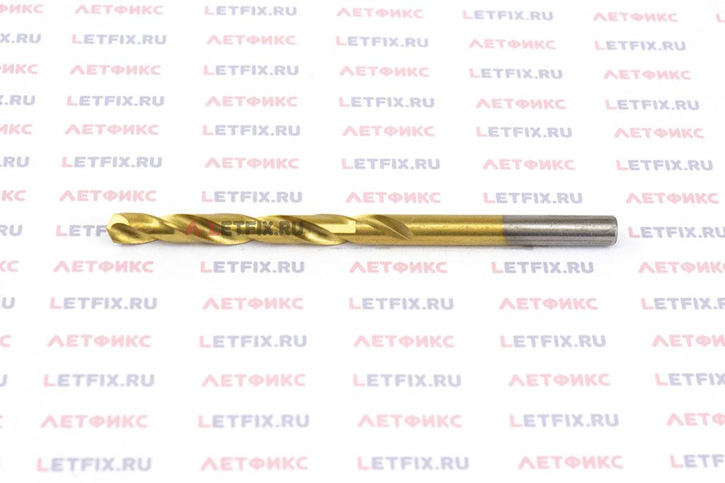 Сверла по металлу Makita HSS-TiN 5,2*86 мм с цилиндрическим хвостовиком по стандарту DIN 338