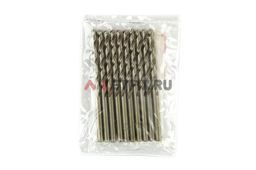 Упаковка свёрл по металлу Макита HSS-G 4,5*80 мм Makita D-06351