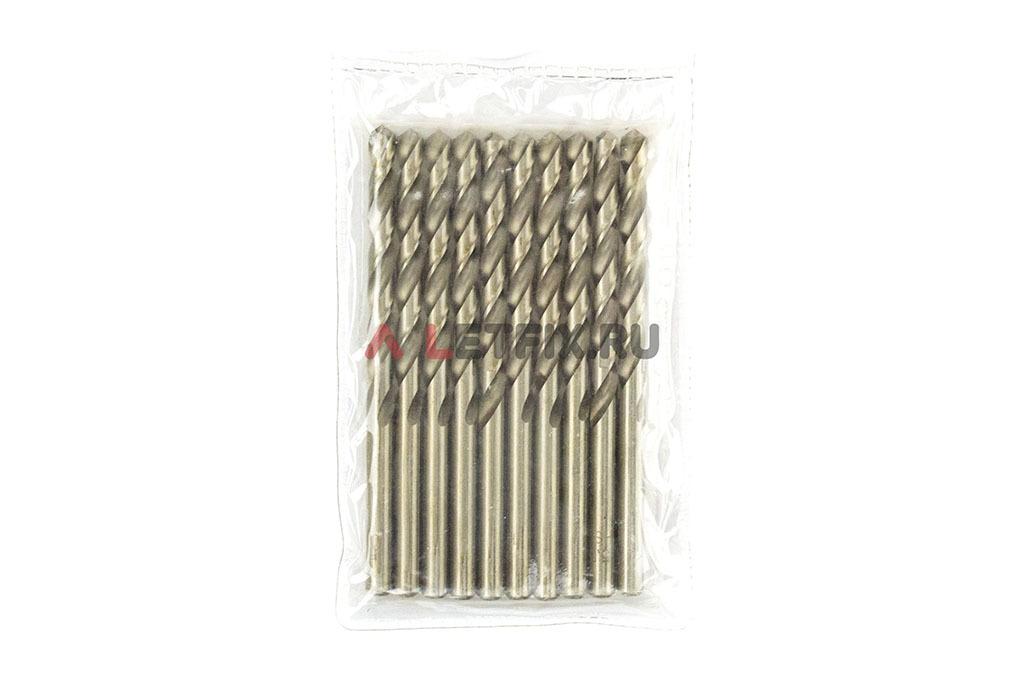 Упаковка свёрл по металлу Макита D-06395 HSS-G 5,5*93 мм
