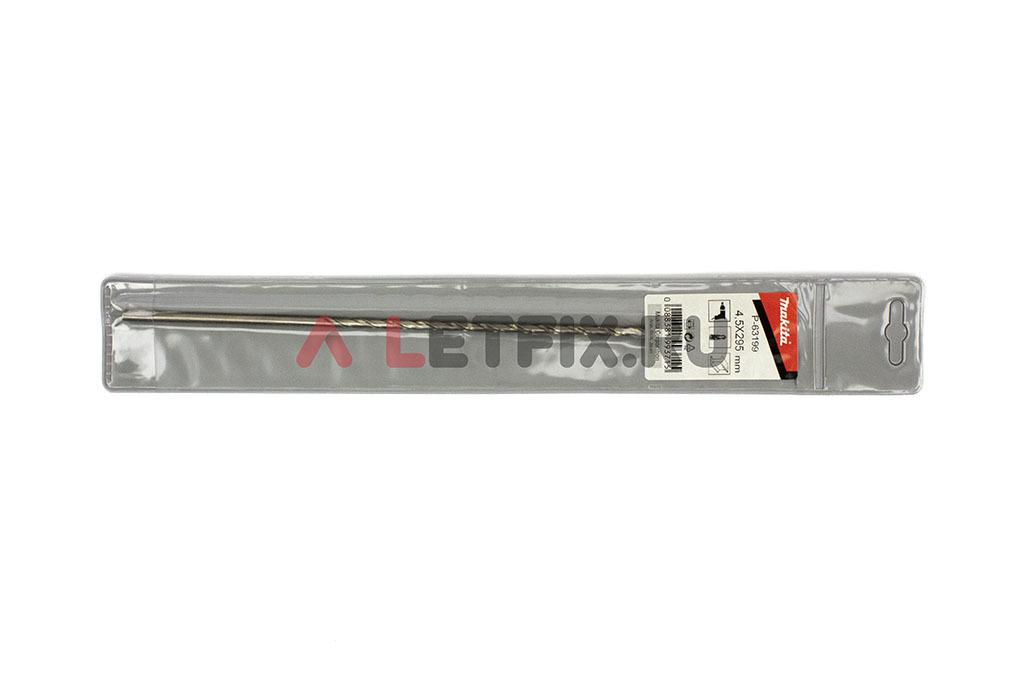 Упаковка длинного сверла по металлу Макита HSS-G 4,5*295 мм
