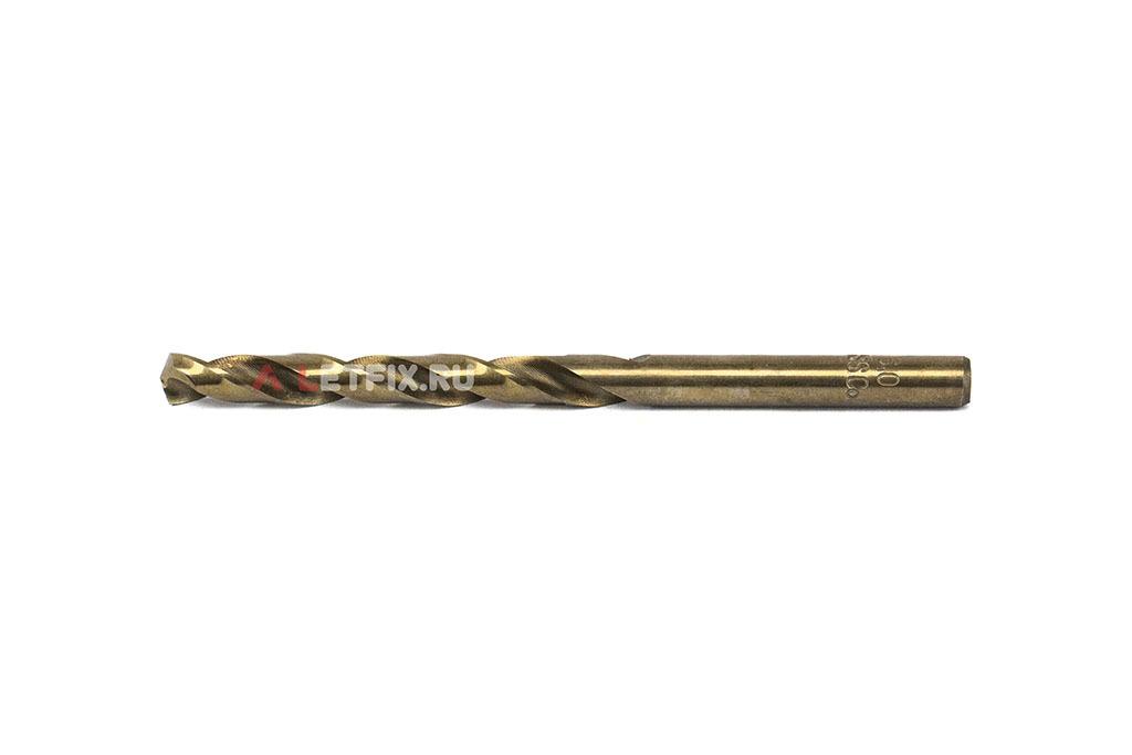 Кобальтовое сверло по металлу Makita HSS-Co 6*93 D-17382 с цилиндрическим хвостовиком (DIN 338)