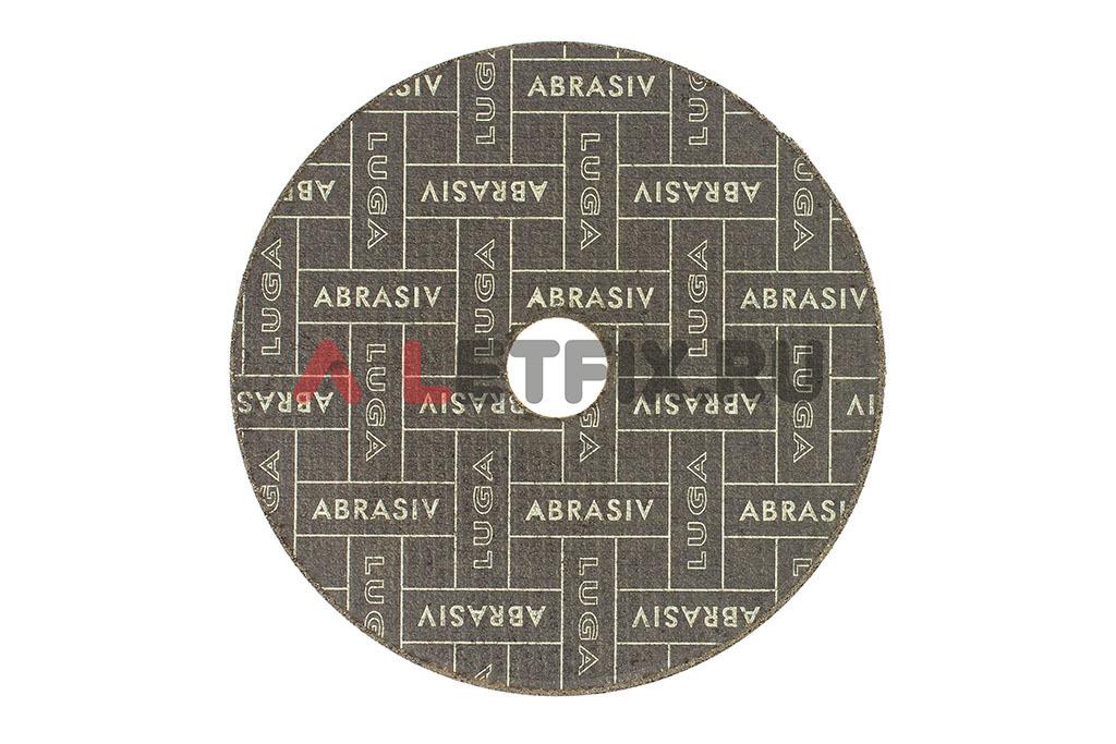 Обратная сторона круга по стали Луга (LUGA ABRASIV) 150*1,6*22,23 мм