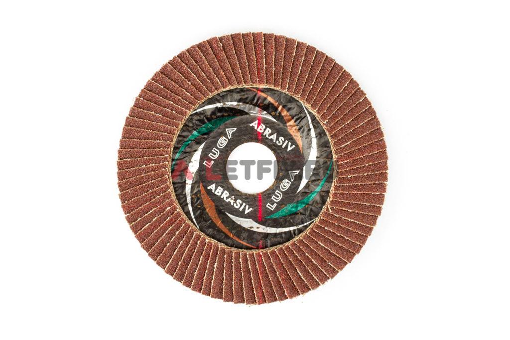 Диск лепестковый торцевой КЛТ1 115*22,23 A60 Luga Abrasiv (Луга)