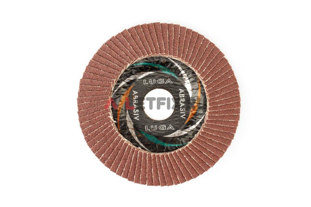 Диск лепестковый торцевой КЛТ1 115*22,23 A80 Luga Abrasiv (Луга)