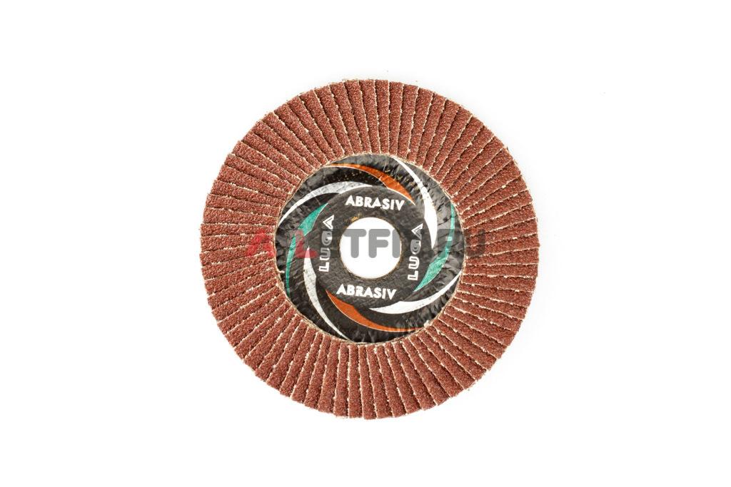 Диск лепестковый торцевой КЛТ1 125*22,23 A40 Luga Abrasiv (Луга)