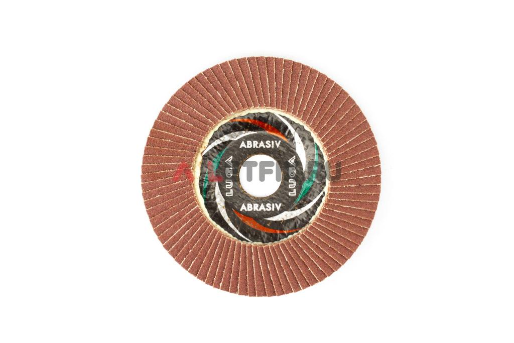 Диск лепестковый торцевой КЛТ1 125*22,23 A100 Luga Abrasiv (Луга)
