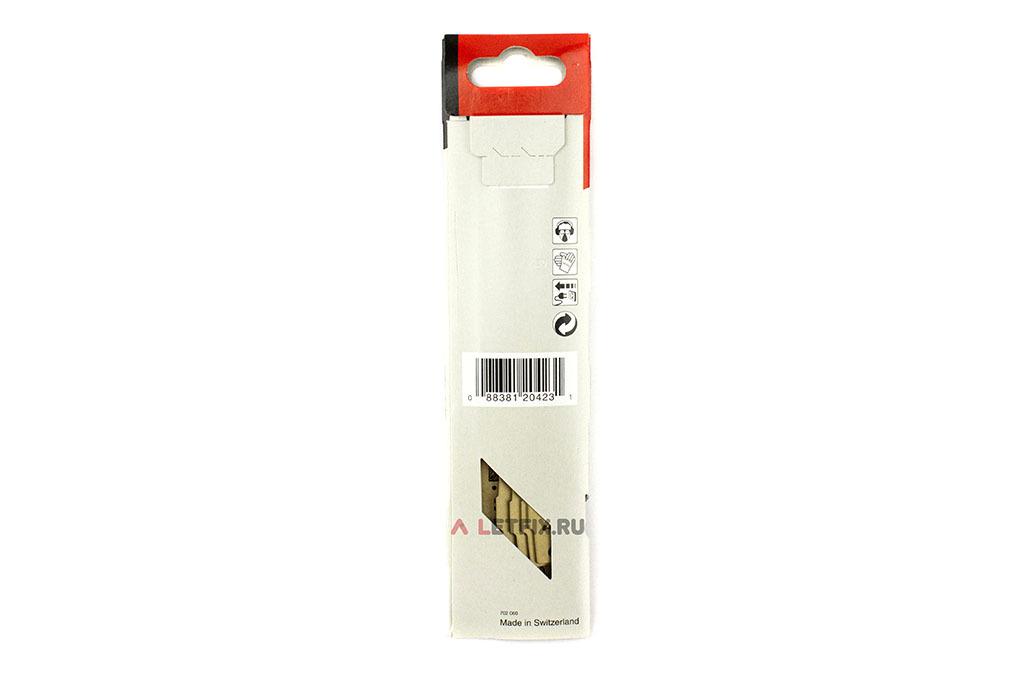Обратная сторона упаковки Makita B-05175 сабельной пилки 152*172/6 для сабельной пилы