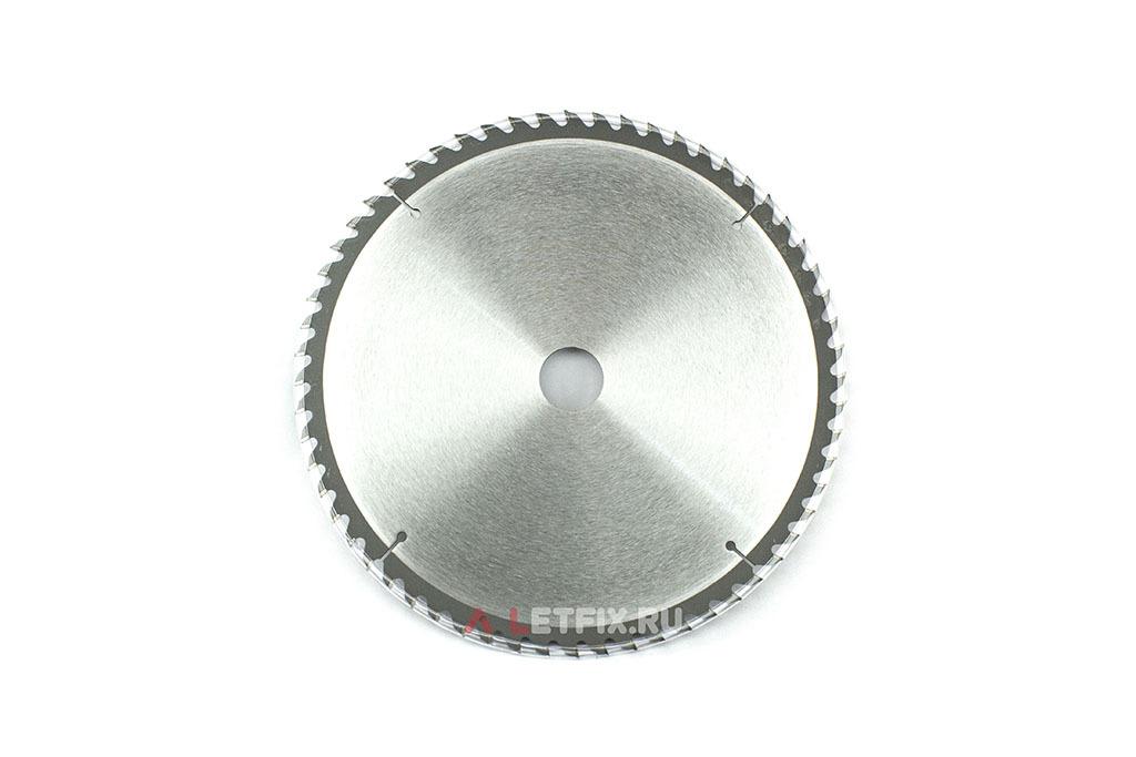 Пильный диск Макита Стандарт D-65383 диаметром 260 мм (60 зубьев)