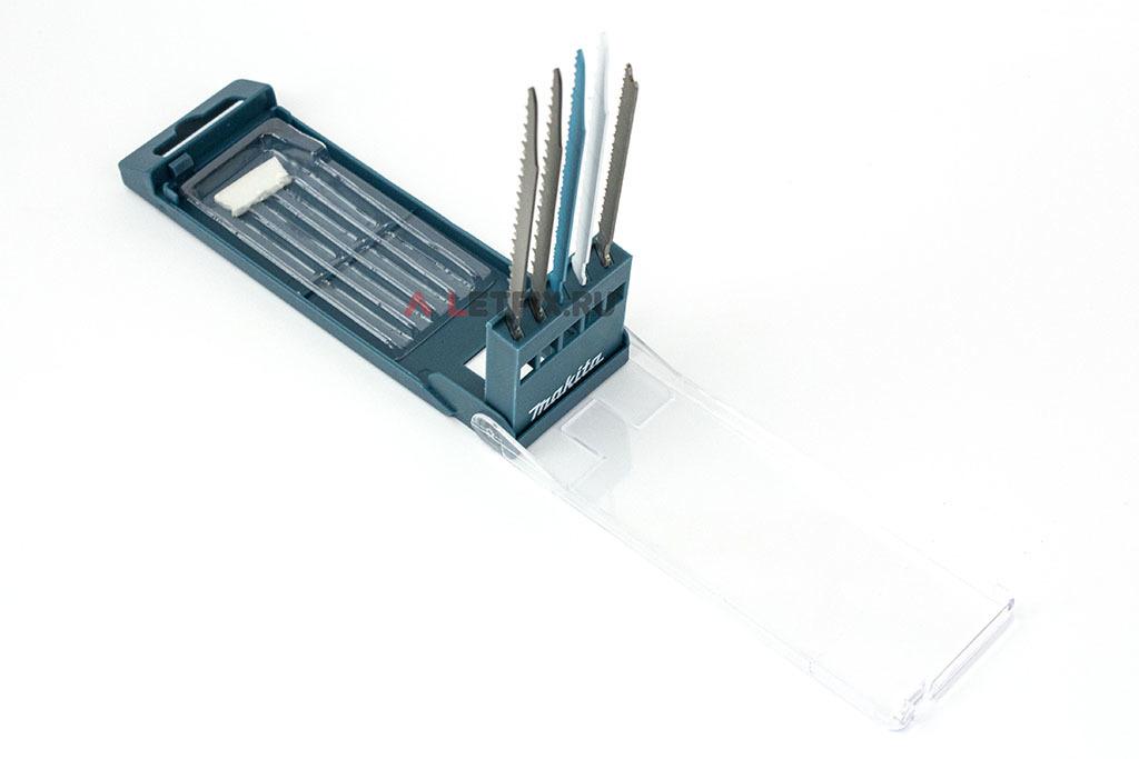 Набор пилок для электролобзика Макита B-48527 из 5 штук: B-50 (2 штуки), B-51, B-52 и 53.