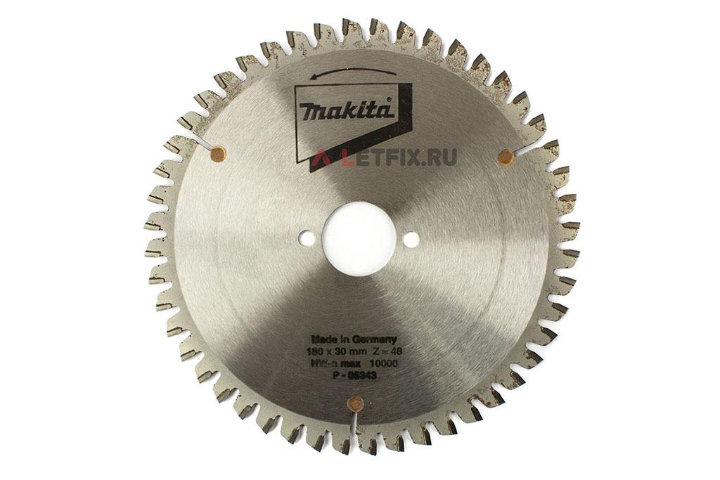 Диск пильный универсальный Makita P-05343 180х30х2.8/48 (для древесины (дерева), алюминия, ПВХ)