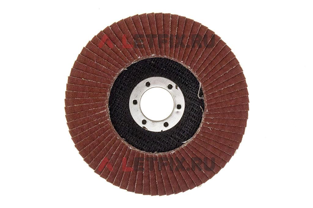 Шлифовальный скругленный лепестковый круг Макита D-28357 125*22,23 Ce80 (C80) (Керамика - оксид алюминия) по металлу