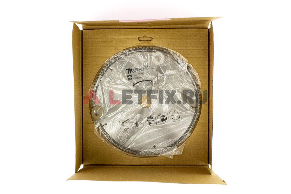 Пильный диск Макита Specialized D-03975 диаметром 260 мм с 100 зубьями по алюминию