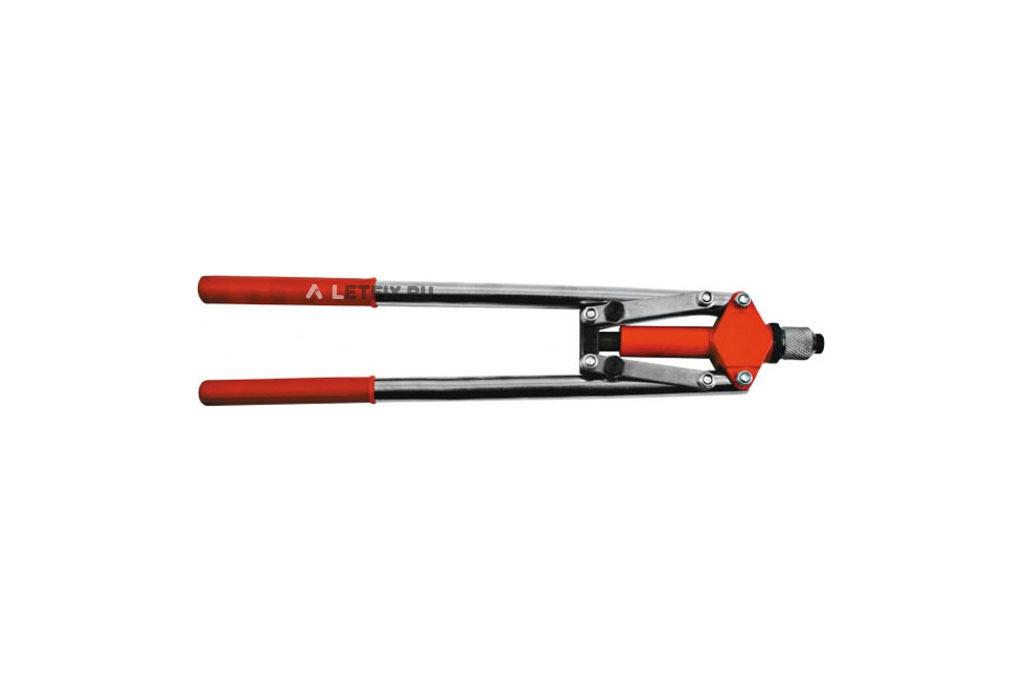 Заклепочник рычажный двуручный для вытяжных заклепок от 3,2 до 4,8 мм FIT 32052