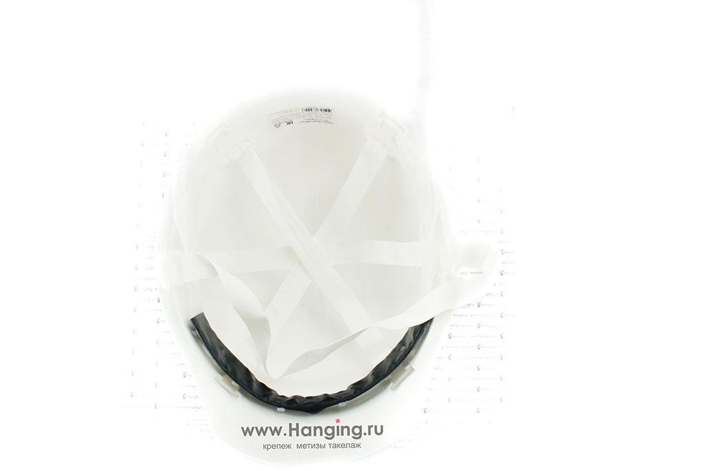 Каска белого цвета для инженеров