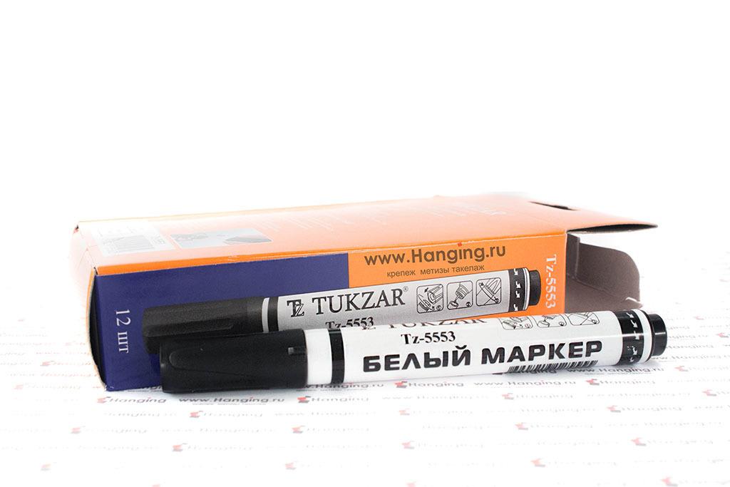 Перманентный белый строительный маркер для разметки и маркировки для монтажных работ