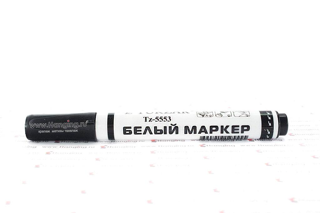 Тонкий белый строительный маркер для монтажных работ (упаковка)