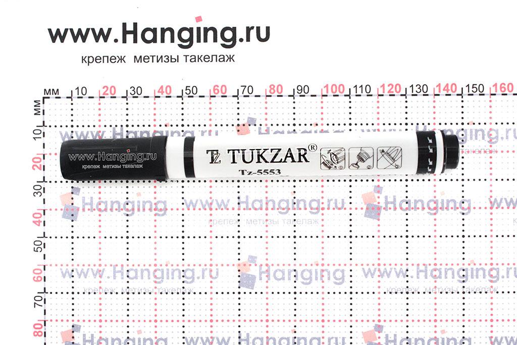 Размеры строительного белого тонкого маркера