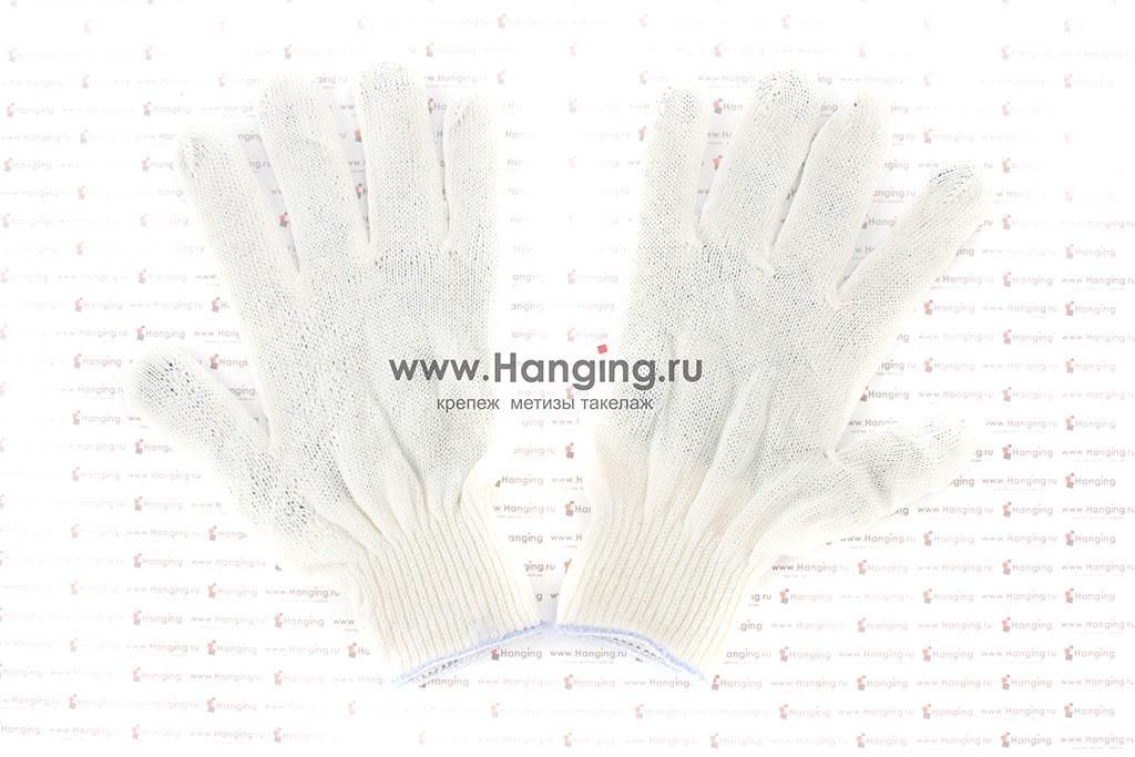 Перчатки х/б (3 нити) с ПВХ