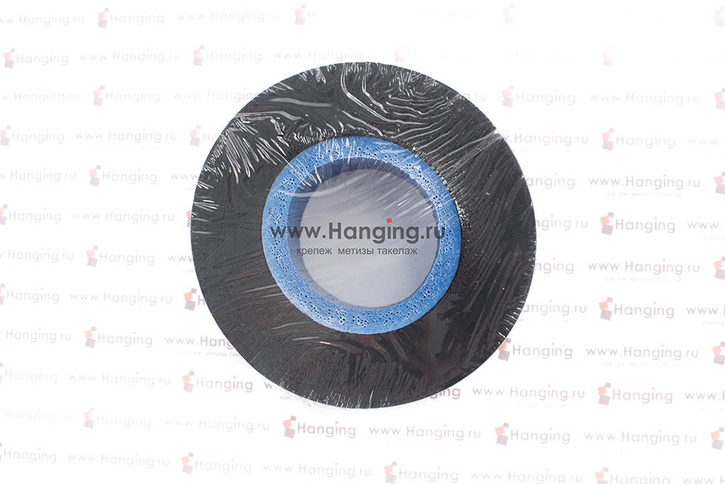Черная изолента ПВХ 19 мм х 20 м
