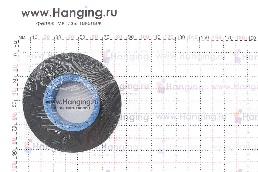 Черная изолента ПВХ 19 мм длиной 20 метров