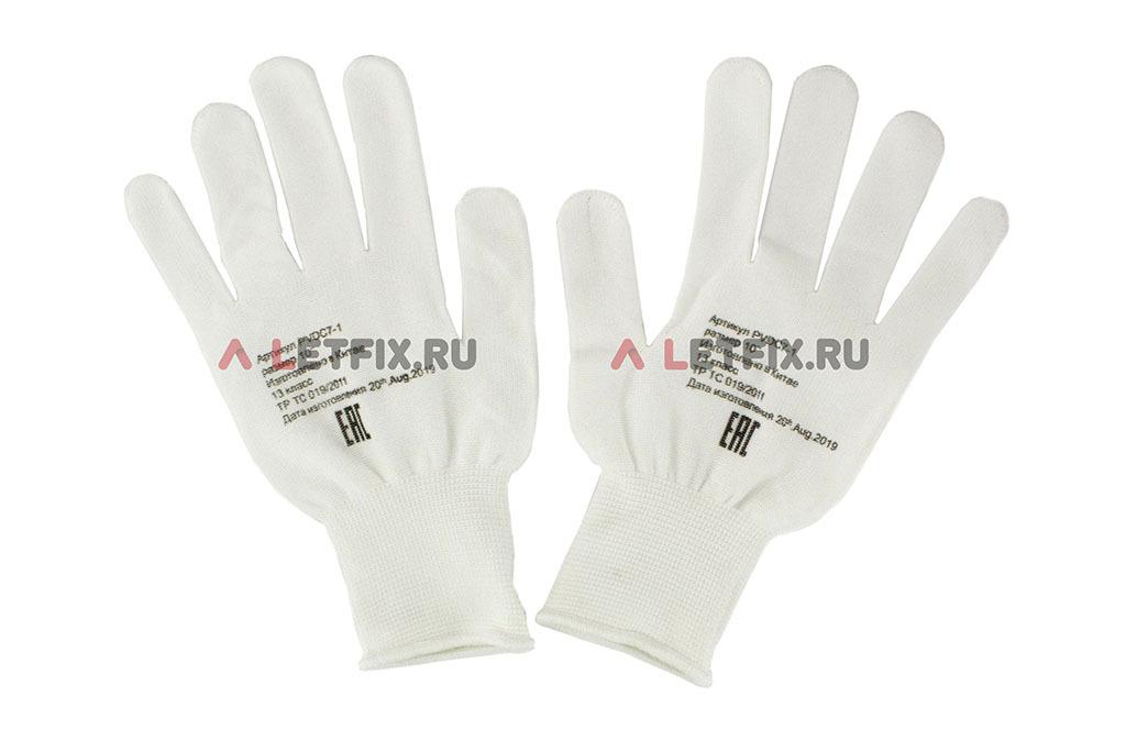 Рабочие перчатки из нейлона с ПВХ с микроточкой