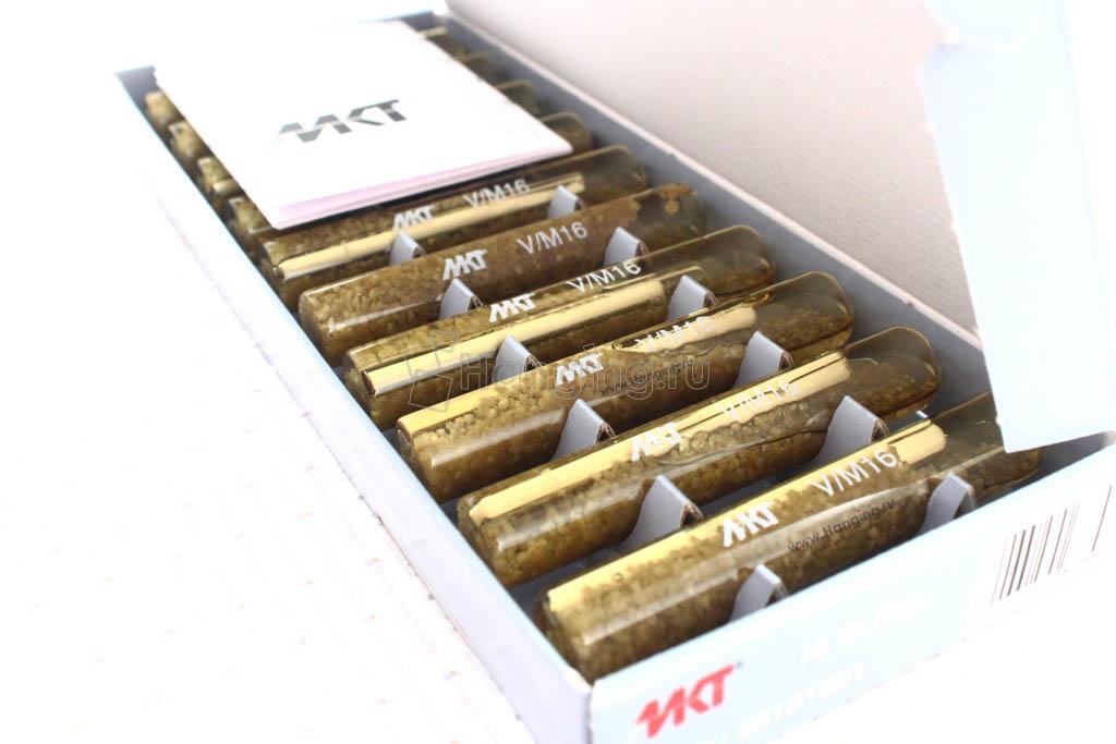 Упаковка химанкеров ампул MKT V-P