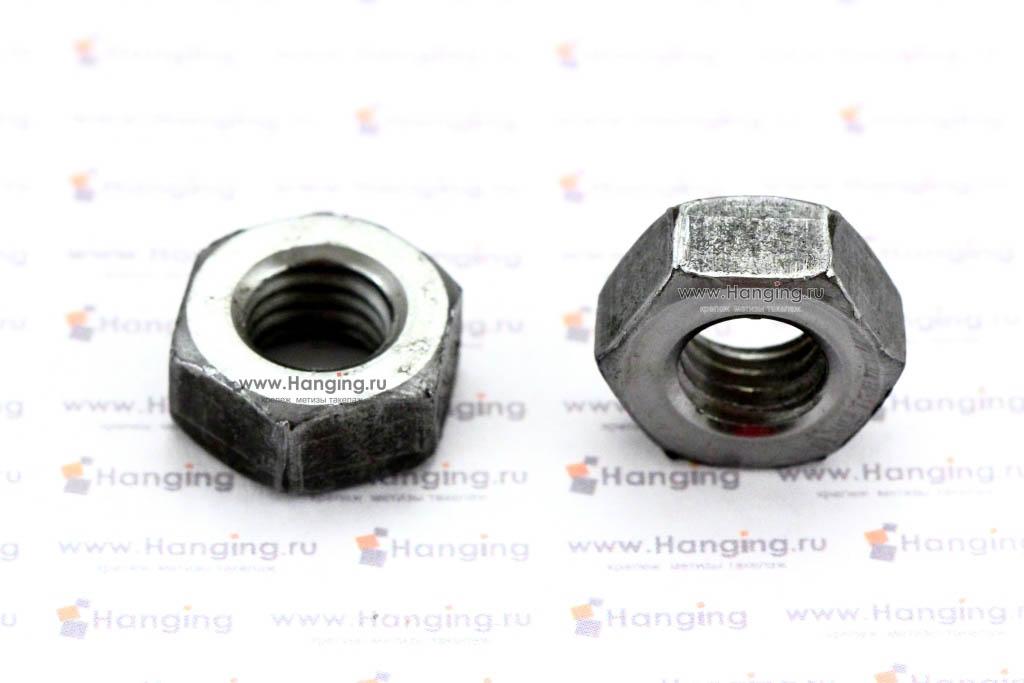 DIN 934 — гайка шестигранная под ключ. Стандартные гайки DIN 934.