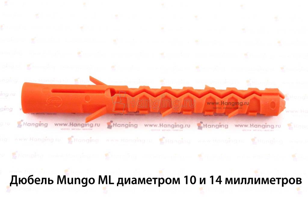 Дюбель для бетона ML Mungo