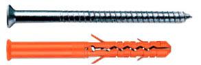 Дюбель фасадный с потайным шурупом Mungo MBR-ST