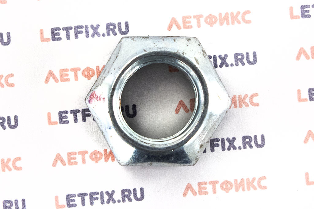 Гайка шестигранная самоконтрящаяся DIN 980 и ISO 7042, ISO 10513