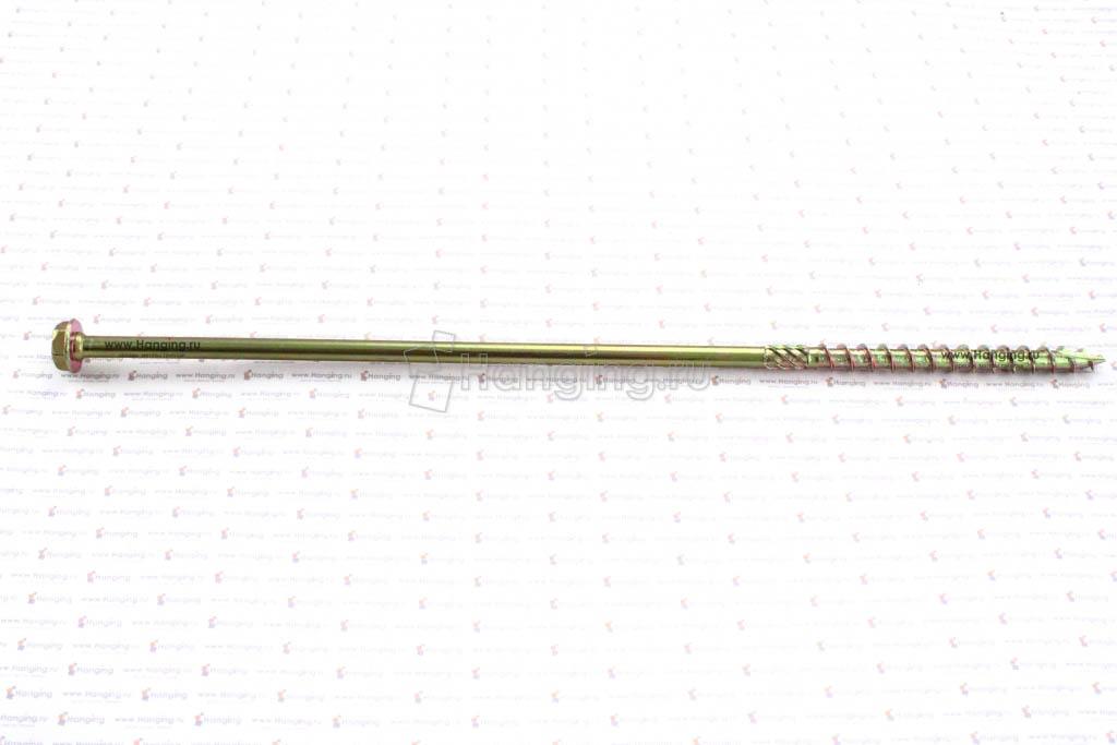 Саморезы для плотных сортов дерева с шестигранной головкой