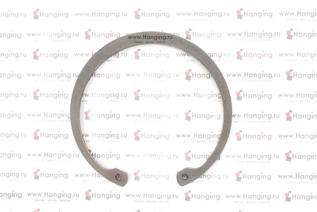 Кольцо стопорное внутреннее DIN 472 из нержавеющей стали (нержавеющее)