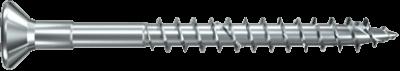Шуруп с серым цинкованием с неполной резьбой Power Fast Fischer