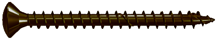 Шуруп из закаленной стали с полной резьбой FPF-LZ-BUF Fischer