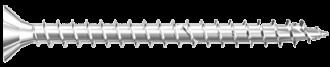 Шуруп из никелированной стали с полной резьбой Power Fast FPF-SZ-NPF Fischer