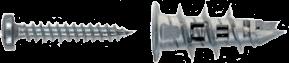 Дюбель для гипсокартона с шурупом Mungo MJP32-S