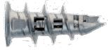 Дюбель для гипсокартона из металла Mungo MJP32