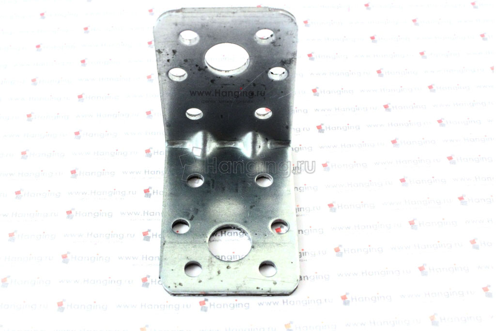 Монтажный уголок с двумя ребрами жесткости вид 2